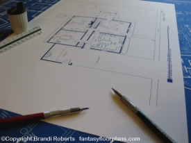 Family Guy house floor plan image