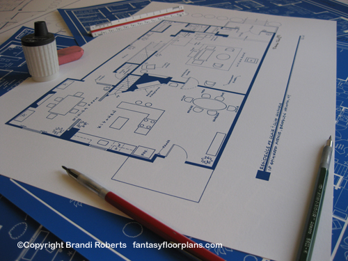 Fantasy Floorplan™ For The Cosby Show/Residence Of Clair