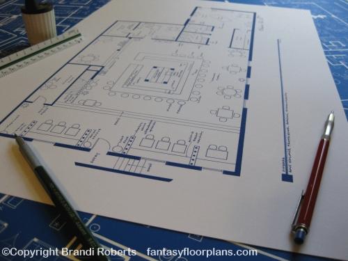 Fantasy floorplan for cheerssam malone proprietor cheers bar floor plan malvernweather Choice Image