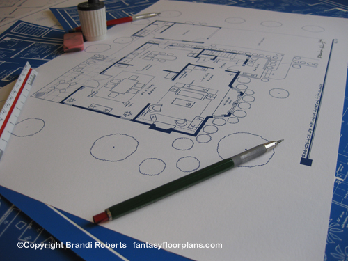 Ghost Whisperer House Floor Plan (1st Floor) image