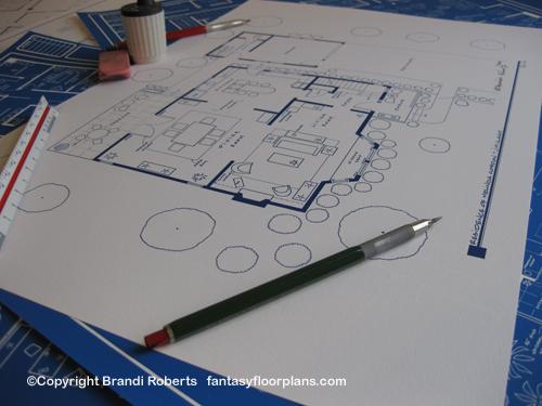 Ghost Whisperer house floor plan