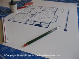 Ghost Whisperer Melinda Gordon house blueprint