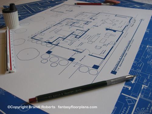 Fantasy Floorplan for RoseanneResidence of Roseanne and Dan Conner – The Waltons House Floor Plan