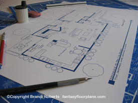 Married with Children House Floor Plan (1st Floor) image