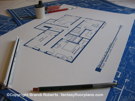 Married with Children House Floor Plan (2nd Floor) image
