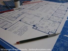 Mad Men offices floor plan