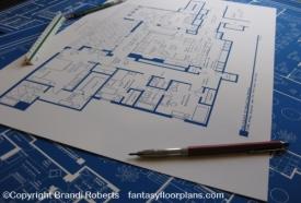 Mad Men Megan and Don Draper apartment floor plan