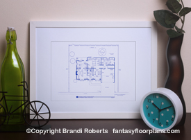 The Simpsons House Layout: 1st Floor