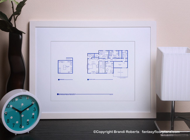 simpsons house floor plan