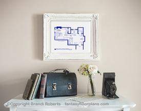 Rocky Balboa apartment layout
