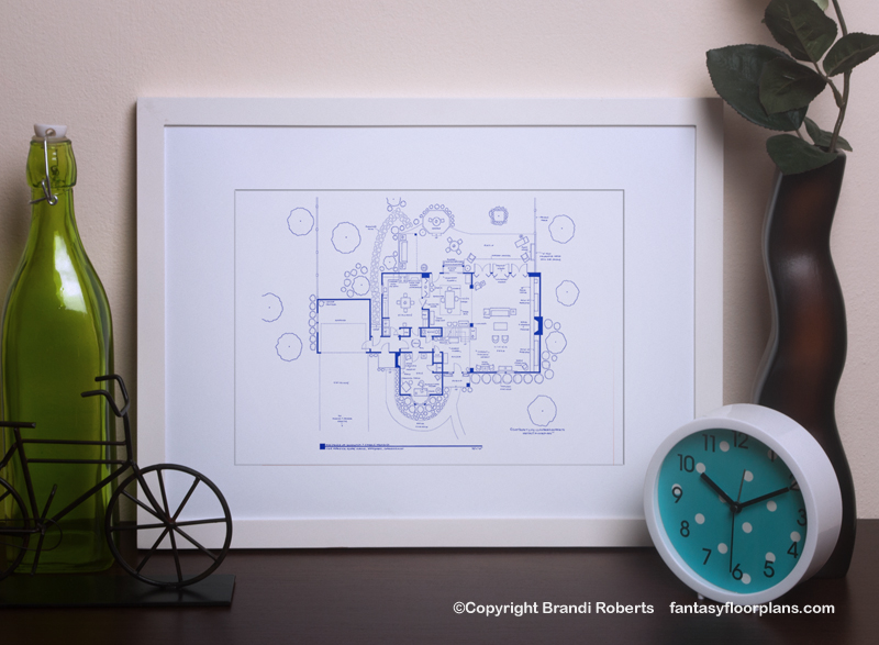 Bewitched house floor planBewitched house floor plan image