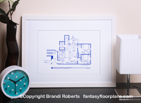 Friends Apartment Floor Plan: Monica and Rachel
