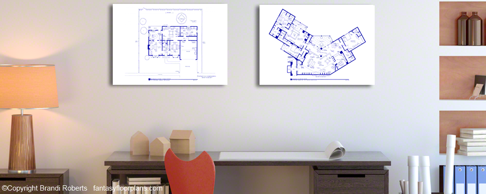 Completed Fantasy Floorplans
